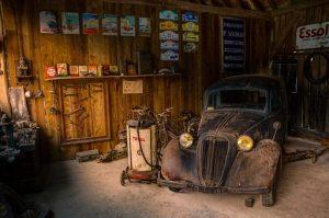 Pour laisser la voiture au garage !!